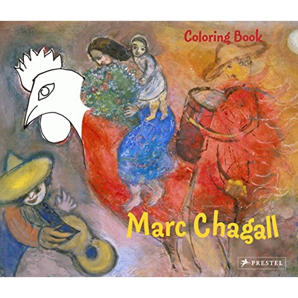 Coloring Book Chagall by Doris Kutschbach (Paperback, 2010)