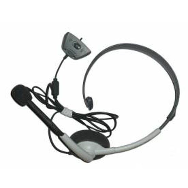 Official Microsoft Wired Headset & Microphone Xbox 360