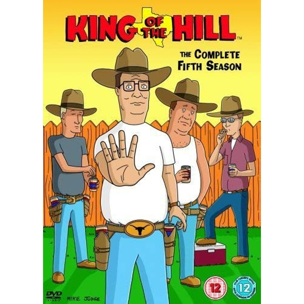 King Of The Hill - Series 5 DVD 4-Disc Set Box Set