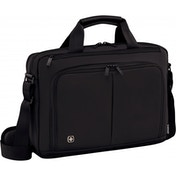 Wenger Source 16inch Laptop Briefcase with Tablet Pocket Black
