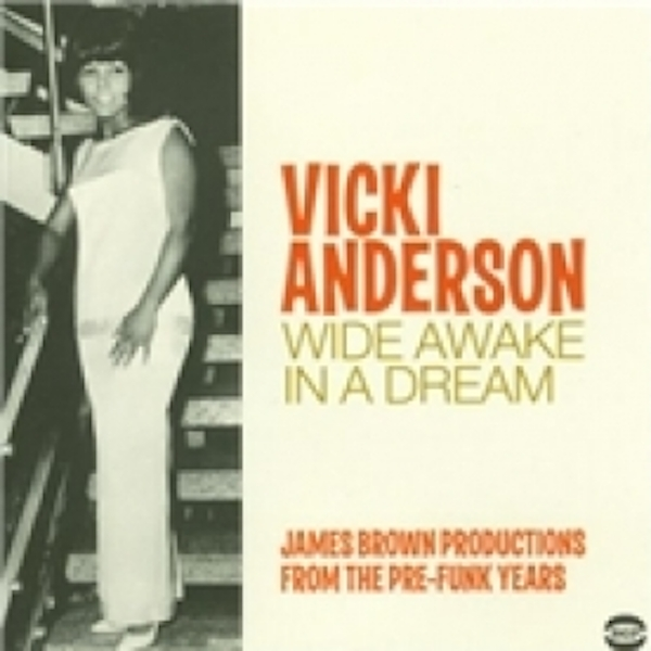 Vicki Anderson Wide Awake In A Dream CD