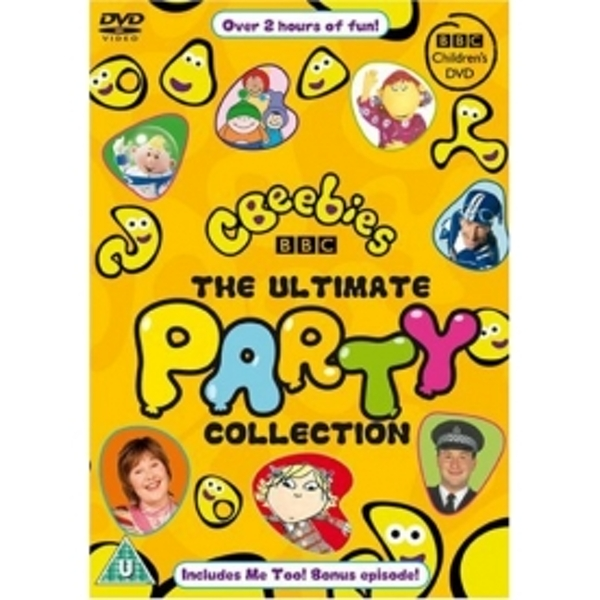 Cbeebies The Ultimate Party Collection Dvd Ozgameshop
