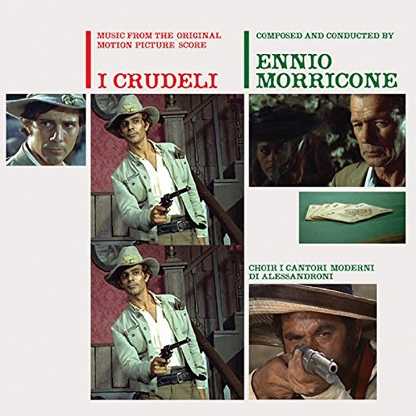 Ennio Morricone - I Crudeli: The Cruel Ones Vinyl