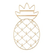 Sass & Belle Gold Pineapple Wall Mounted Jewellery Holder