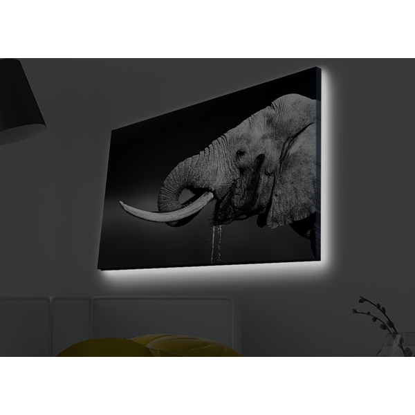 4570MDACT-015 Multicolor Decorative Led Lighted Canvas Painting