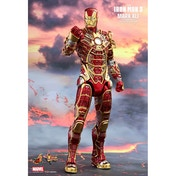 Hot Toys Iron Man 3 Mark 41 MK XLI Bones Retro Armor Version 1/6 Action Figure