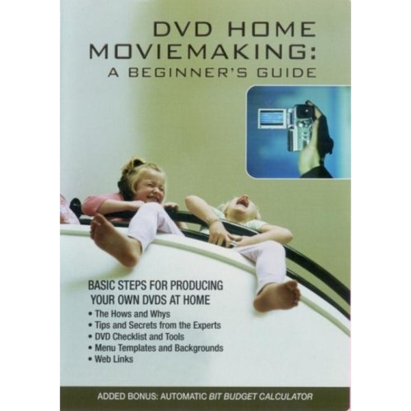 DVD Home Moviemaking  A Beginner's Guide DVD