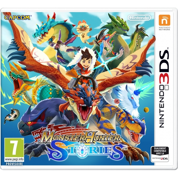 Monster Hunter Stories 3DS Game