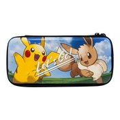 Official Nintendo Licensed Pokemon Let's Go Pikachu/Eevee Pouch Case for Nintendo Switch