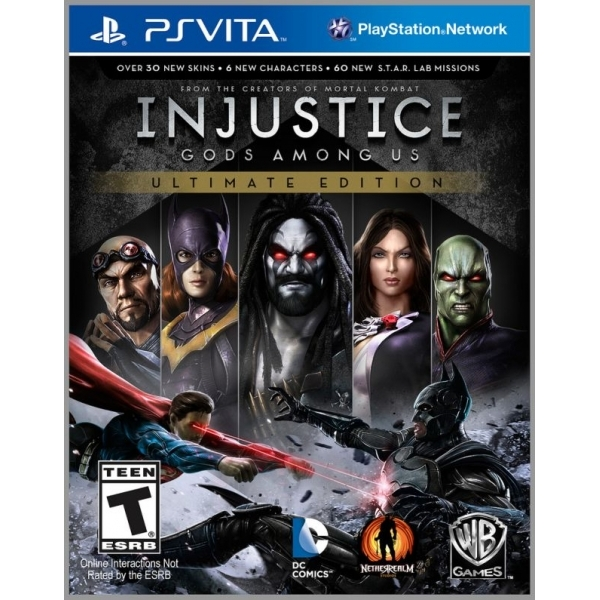 Injustice Gods Among Us Ultimate Edition Game Of The Year (GOTY) Game PS Vita (#)