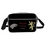 Game Of Thrones Bag You Win Or You Die Bolso Black Messenger Bag