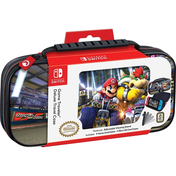 Mario Bowser Game Traveler Deluxe Travel Case for Nintendo Switch