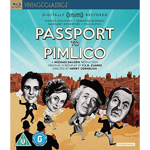 Passport To Pimlico Blu-ray