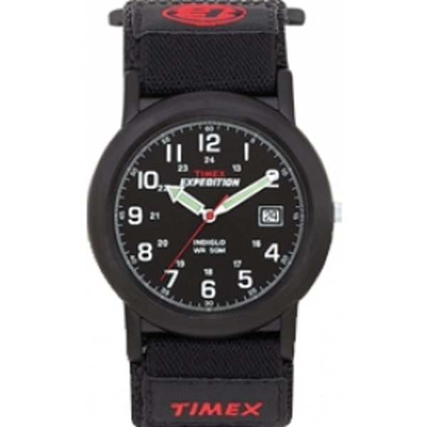 Timex T40011 Expedition Camper Black Faststrap Watch