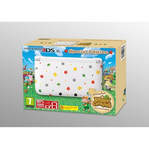 Animal Crossing Nintendo 3DS XL Console with Animal Crossing New Leaf Game