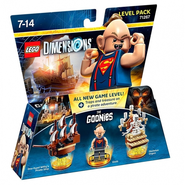 Goonies Lego Dimensions Level Pack Damaged