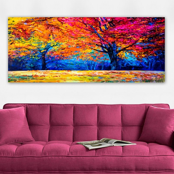 YTY292880360_50120 Multicolor Decorative Canvas Painting