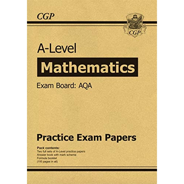 New A-Level Maths AQA Practice Papers (for the exams in 2021)  Paperback / softback 2018