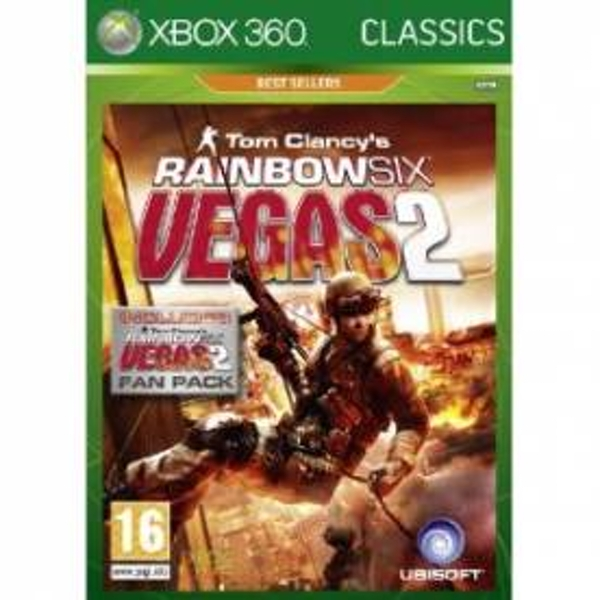 Rainbow Six Vegas 2 Complete Edition Game (Classics) Xbox 360