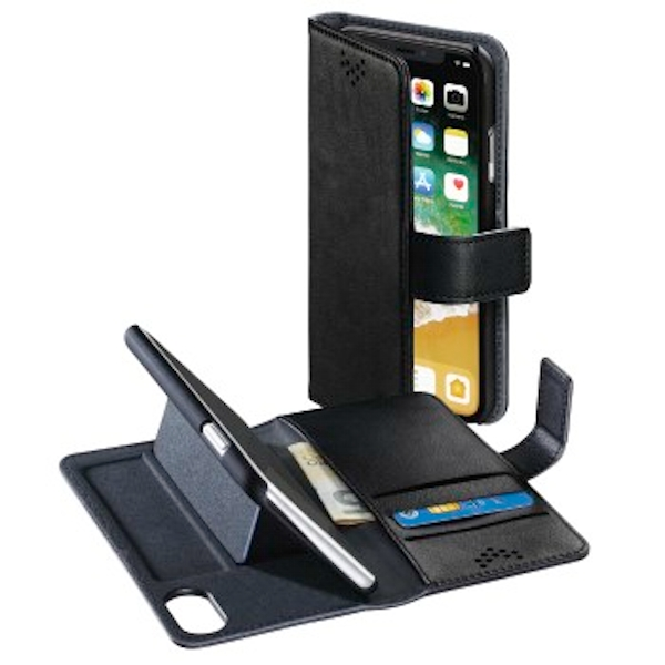 "Hama ""Stand-Up"" booklet for Apple iPhone X, black"