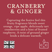 Cranberry & Ginger (Superstars Collection) Tin Candle - Image 3