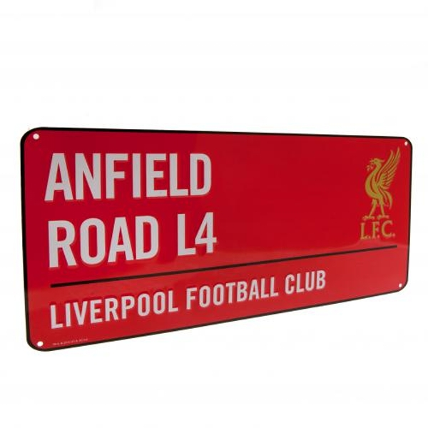 Liverpool FC Red Street Sign