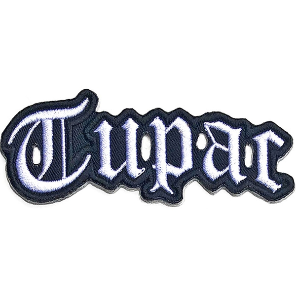 Tupac - Cut-Out Logo Standard Patch