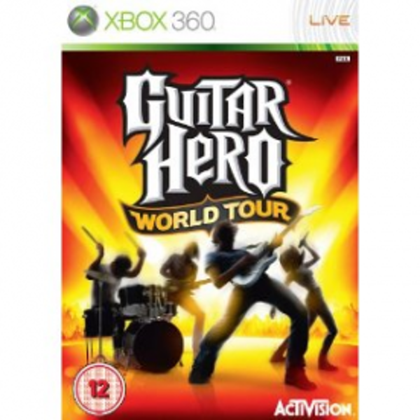 Guitar Hero World Tour Solus Game Xbox 360