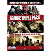 Zombie Triple (Survival of The Dead/Day of The Dead /Diary of The Dead) DVD