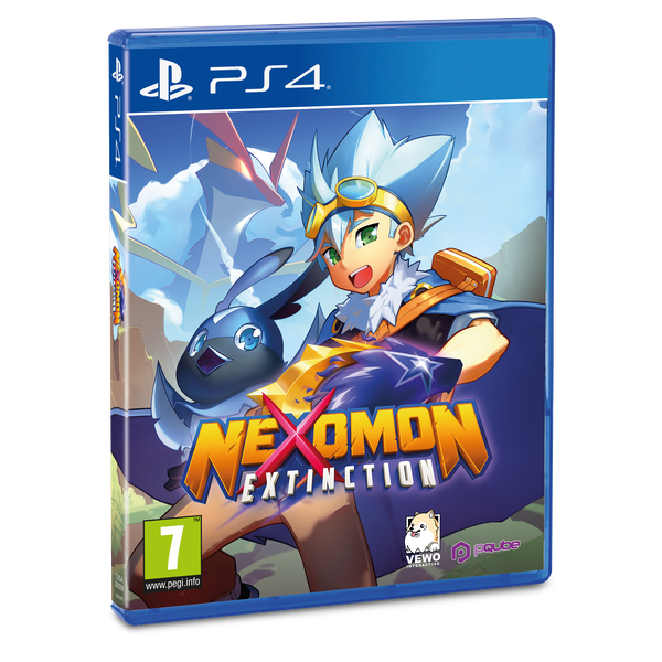 Nexomon Extinction PS4 Game [Damaged Packaging]