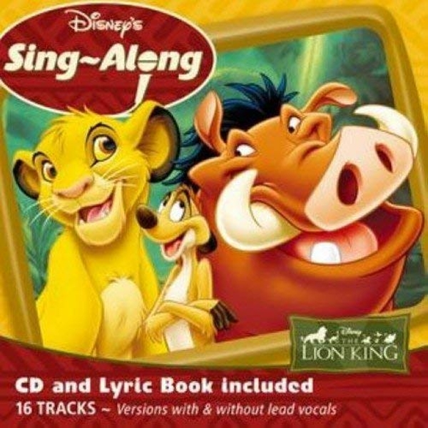 Disney's Sing-A-Long - The Lion King CD