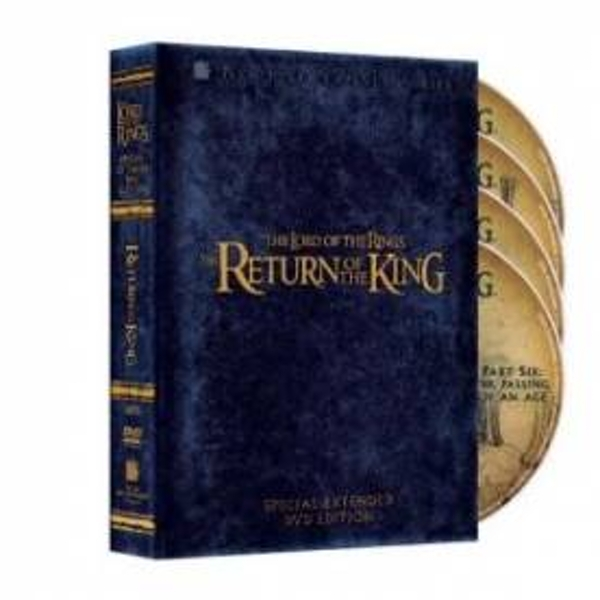 The Lord of the Rings The Return of the King Extended Edition DVD
