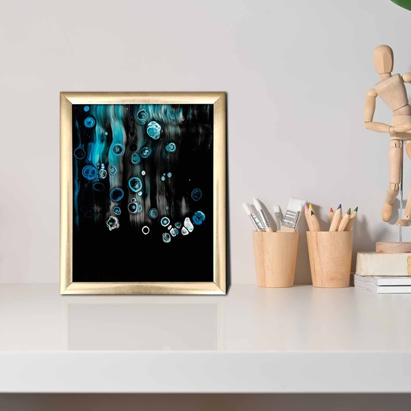 ACT-041 Multicolor Decorative Framed MDF Painting