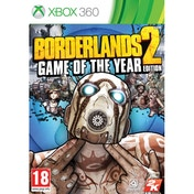 Borderlands 2 Game Of The Year (GOTY) Xbox 360