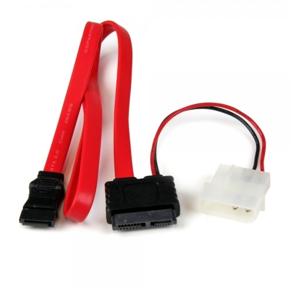 Startech 20in Slimline SATA to SATA Cable