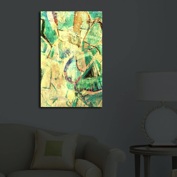 4570?ACT-50 Multicolor Decorative Led Lighted Canvas Painting