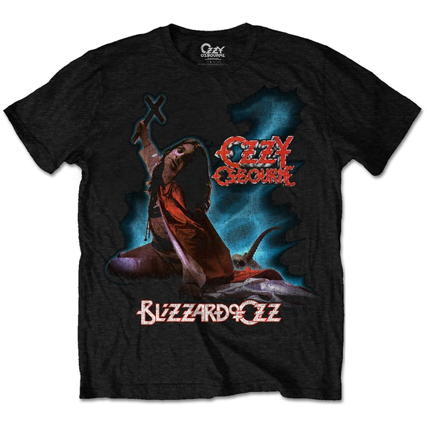 Ozzy Osbourne - Blizzard of Ozz Men's Large T-Shirt - Black