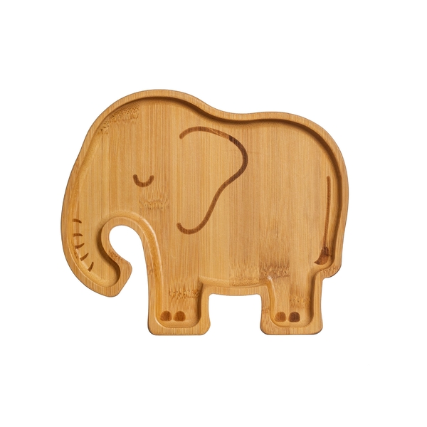 Sass & Belle Elephant Bamboo Plate