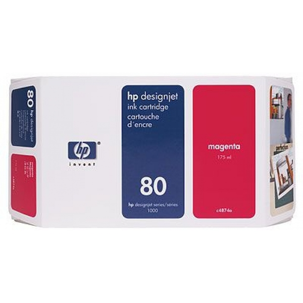 HP C4847A (80) Ink cartridge magenta, 4.4K pages, 350ml - Image 2