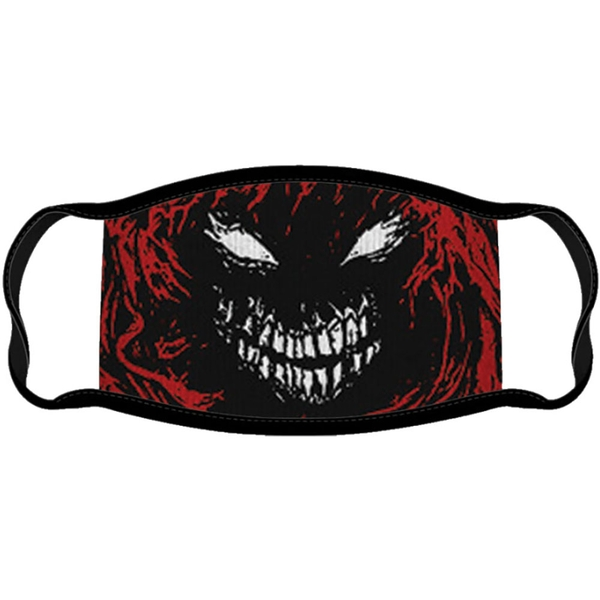 Disturbed - Scary Face Face Mask - Black