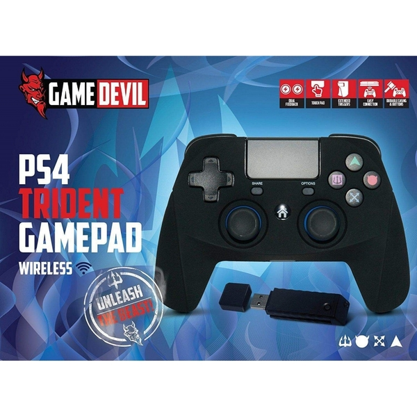 Game Devil Trident Wireless PS4 Controller