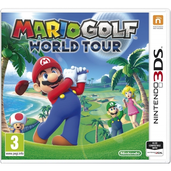 Mario Golf World Tour Game 3DS - Image 1