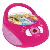 Lexibook RCD108DP Disney Princess Boombox Radio CD Player UK Plug