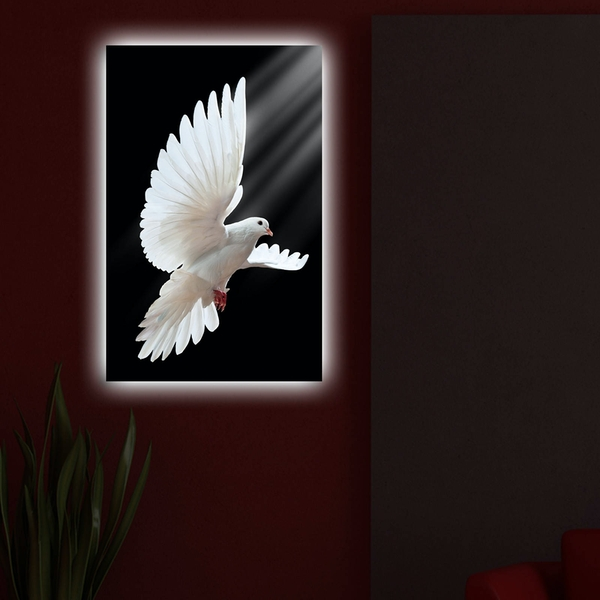 4570DACT-49 Multicolor Decorative Led Lighted Canvas Painting