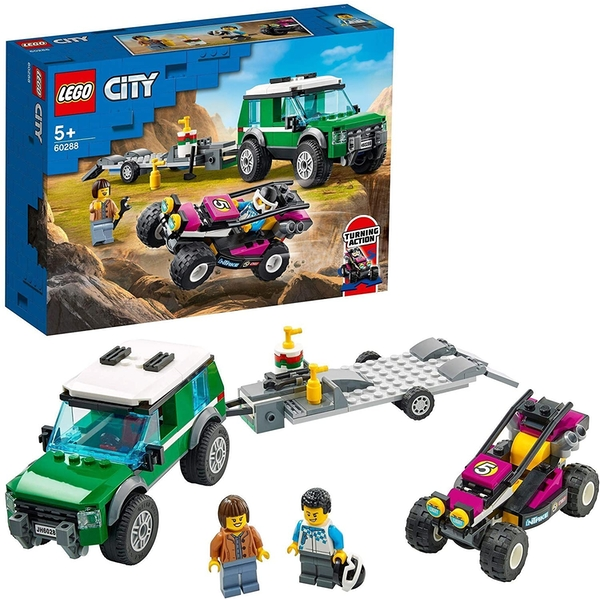 Lego City Great Vehicles Race Buggy Transporter Construction Set