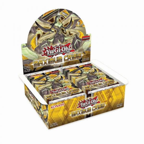 Yu-Gi-Oh! TCG Maximum Crisis Booster Box (24 Booster Packs)
