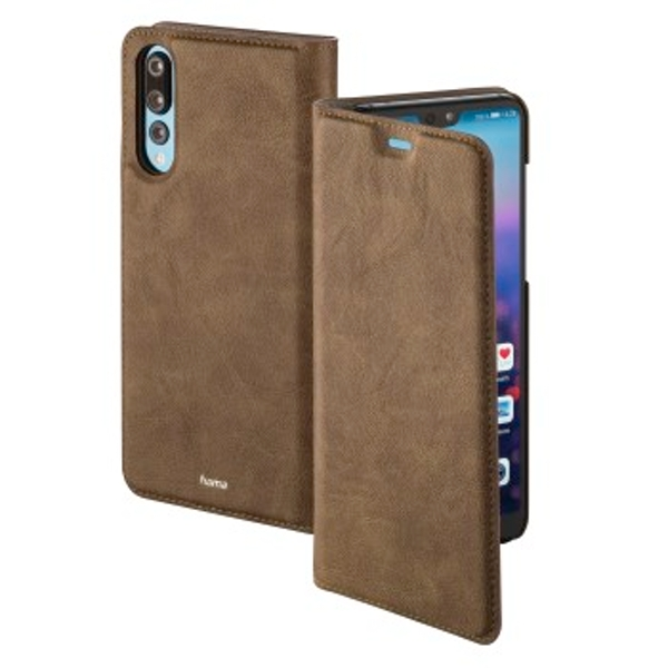 """Hama """"Guard Case"""" Booklet for Huawei P20 Pro, brown"""