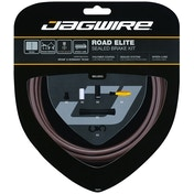 Jagwire Road Elite Sealed Brake Cable Kit Frozen Coffee