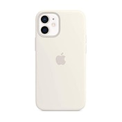 Apple Silicone Case with MagSafe (for iPhone 12 mini) - White