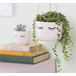 Sass & Belle Eyes Shut Hanging Planter - Image 2